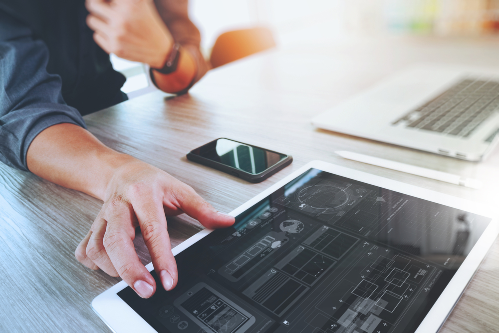 Webmaster macht Website SEO Optimierung